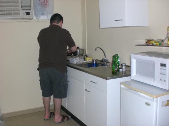 Aruba Blue Village: La cocina del apartamento studio