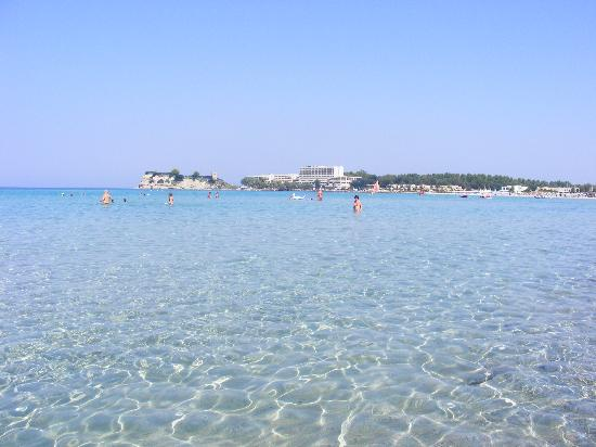Sani Club: lovely clear waters