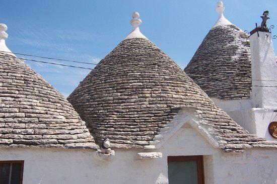 Alberobello, Italien: Funny little houses!