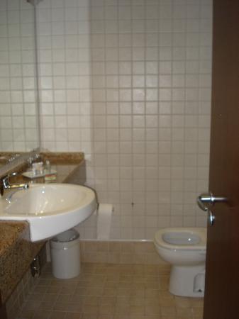 Bourbon Joinville Business Hotel: Bathroom