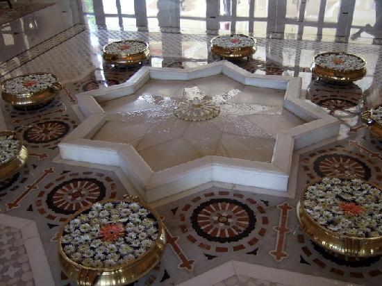 Rambagh Palace: ホテルロビー