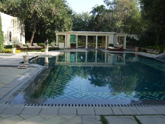 Rambagh Palace: ホテルプール