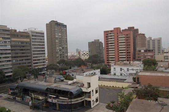 Carmel Hotel: View from my window