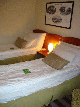 Clarion Hotel & Congress Oslo Airport: Un letto non è stato rifatto