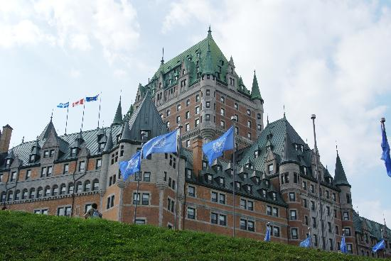 Le Grande-Allee Hotel and Suites: Chateu Frontenac