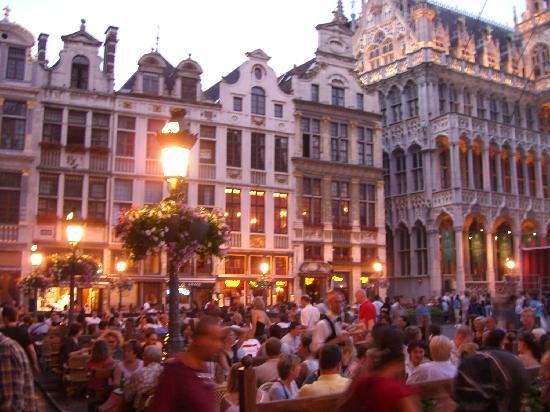 Belgium: Main square in Brussells