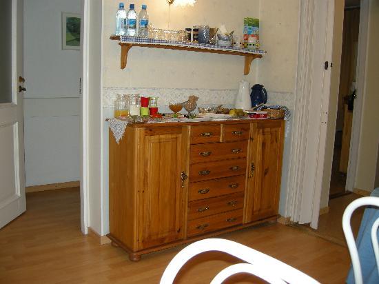 Poska Villa: Das liebevoll bereitete Frühstück