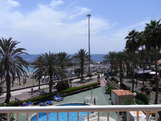 Apartamentos Vistasur: View from balcony
