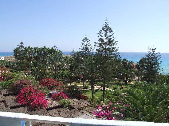 Nissi Beach Resort: view from hotel balcony