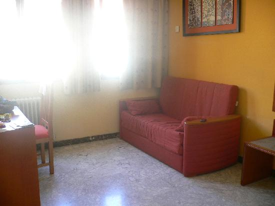 Hotel Los Girasoles II : Living room