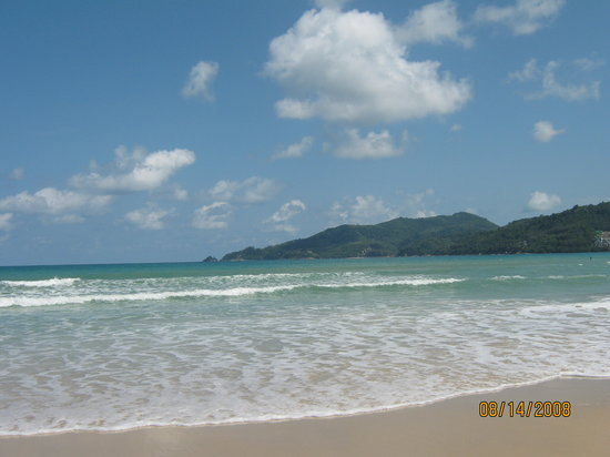 Patong, Thailand: the beach