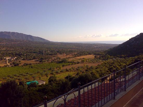 Hotel Restaurant Ispinigoli : vista dalla terrazza dell'albergo