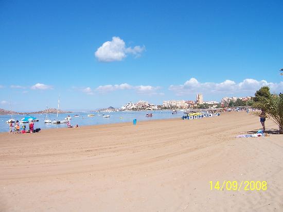 Hotel Entremares: View of EL Mar Menor