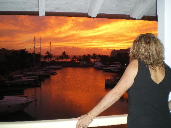 Port St. Charles: Loved the Sunset