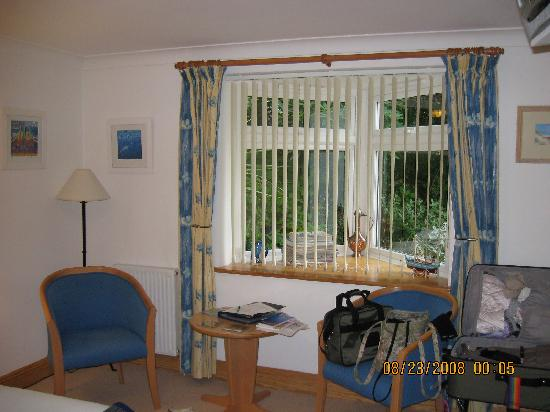 Eden House: Wanted to show the blinds open to a parking area.