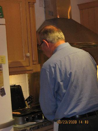 Eden House : Master Chef hard at work.