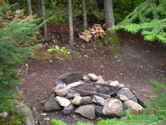 Gunflint Pines Resort & Campgrounds: campsite