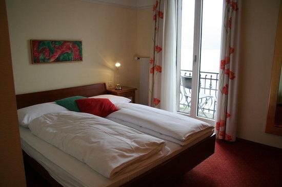 SeeHotel Gotthard: Notre chambre