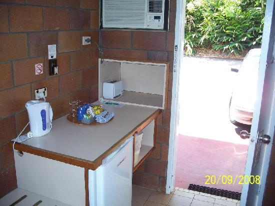 Malanda Lodge Motel: mini bar