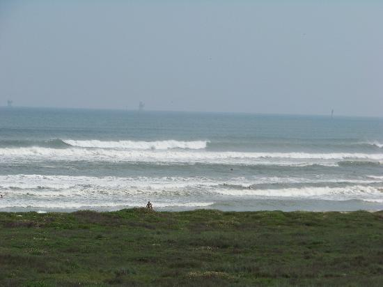 Hawthorn Suites by Wyndham Corpus Christi Padre IS : Beach view from room
