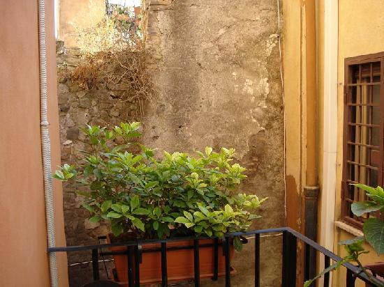 Pettinary Village: the balcony