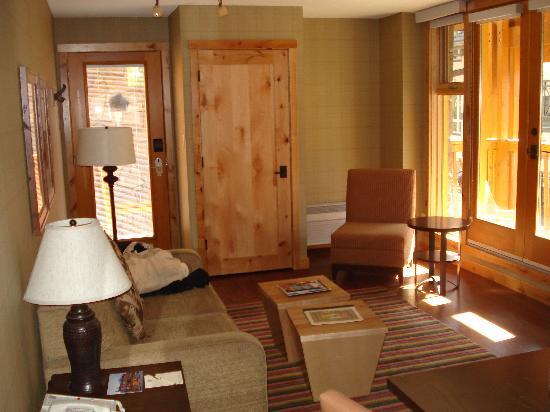 Fox Hotel & Suites: Suite living room