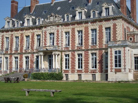Chateau de Marechal de Saxe: Back of the Chateau