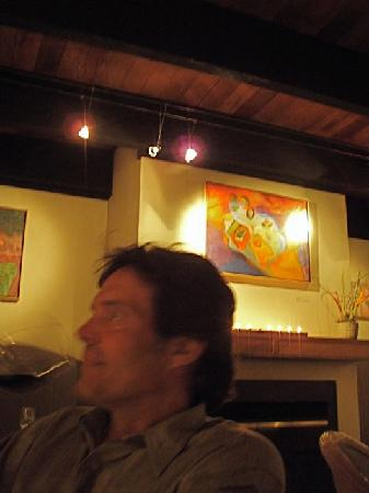 The Restaurant at Stevenswood: Sipping wine at Stevenswood