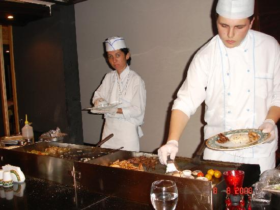 Delphin Palace Hotel : Japanese Meal - Excellent