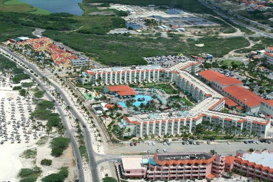 La Cabana Beach Resort Aerial View
