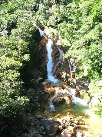 La Anita Rainforest Ranch: nearby waterfall