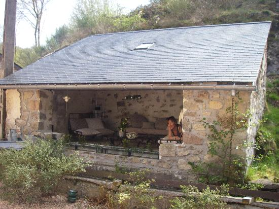 Moulin des Morvans : Un autre coin Apéro !!