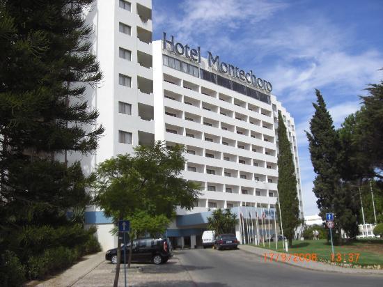 Hotel Montechoro: Front of Montechoro Hotel