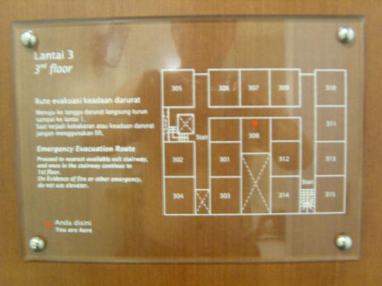 Amaris Hotel Panglima Polim: plan