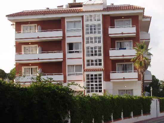 Gran Garbi Mar: hotel vue de cote
