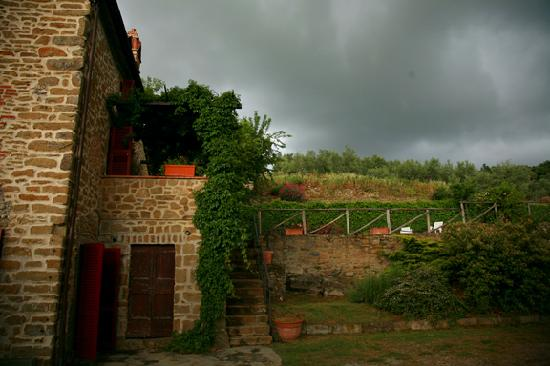 Azienda Fontelunga: This is the house that's seprate from the main property.