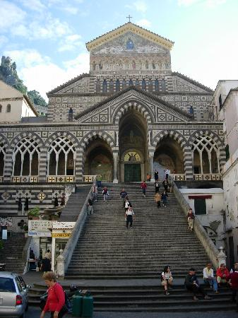 St Andrew S Cathedral In The Center Of Amalfi Picture