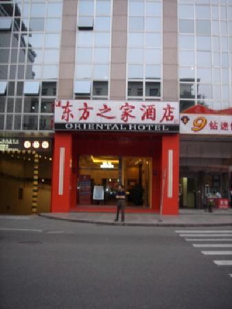 Oriental Hotel: outside of hotel