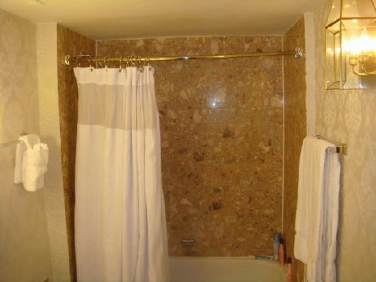 Clayton Plaza Hotel: Shower - not too bad actually.