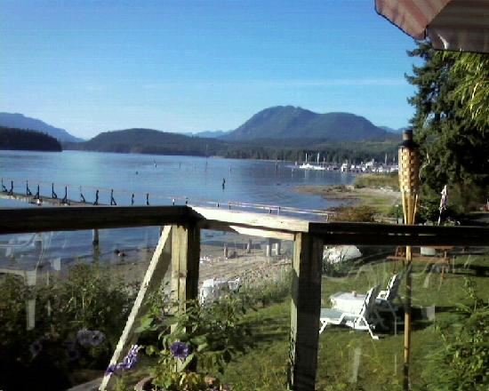 Blue Heron Inn: View of Porpoise Bay from Blue Heron