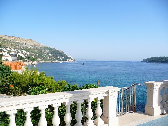 Villa Adriatica: view from terrace