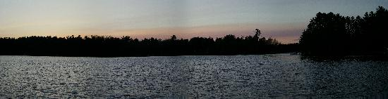 Whispering Pine Lodge: Lake Pickerel Panoramic