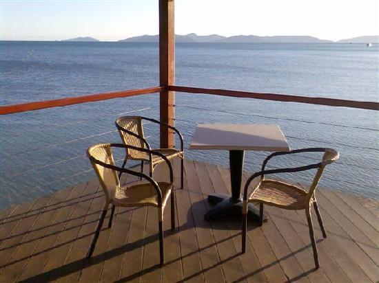 South Molle Island, Austrália: Perfect table to watch the sun set