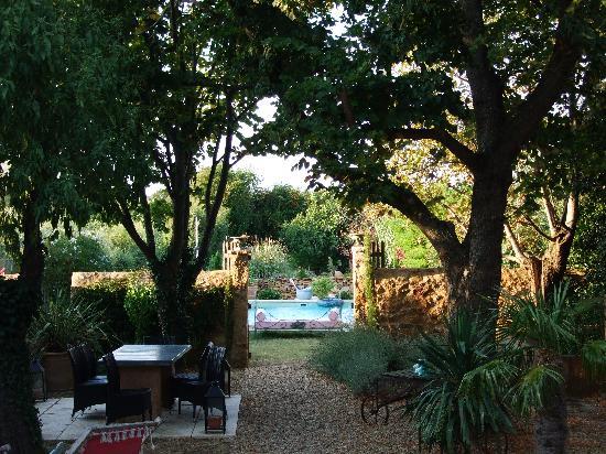 Demeure de Roquelongue : Jardin intérieur