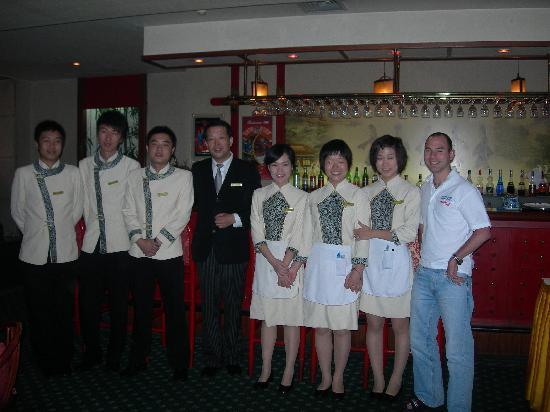 Grand View Garden Hotel: Bar Staff