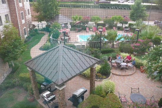 Staybridge Suites Dallas-Las Colinas Area : View from room 323