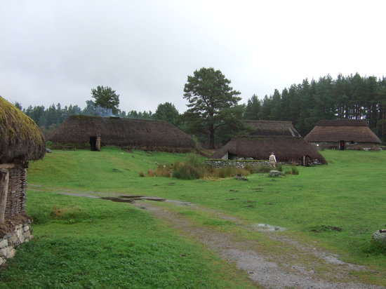 Highland Folk Museum: The village,Folk museum