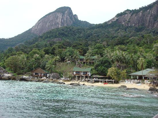 Minang Cove Resort: initial view upon arrival