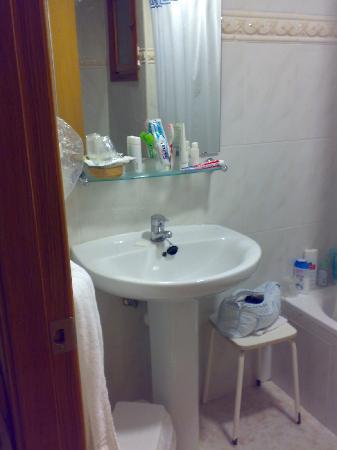 Voramar Hotel: lavabo