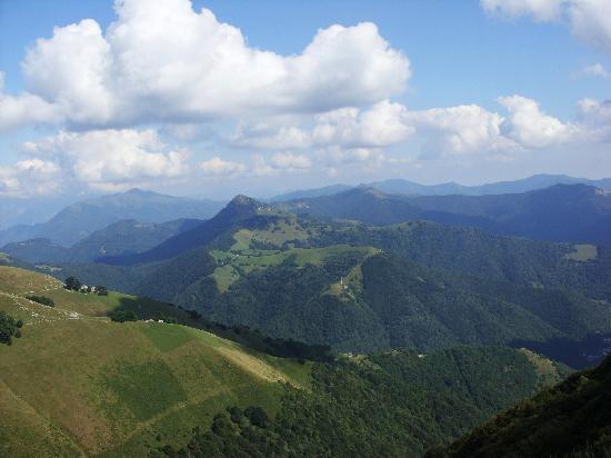 Capolago, سويسرا: View from Monte Generoso